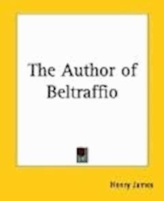 The Author of Beltraffio - Henry James - ebook