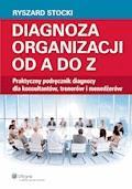 Diagnoza organizacji od A do Z. Praktyczny podręcznik diagnozy dla konsultantów, trenerów i menedżerów - Ryszard Stocki - ebook
