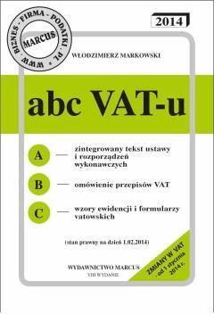 ABC VAT-u 2014 - Włodzimierz Markowski - ebook
