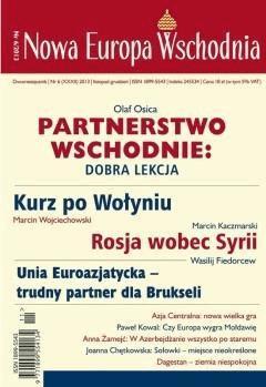 Nowa Europa Wschodnia 6/2013 - Opracowanie zbiorowe - ebook