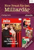 Eine Braut für den Milliardär - 4-teilige Serie - Lynne Graham - E-Book