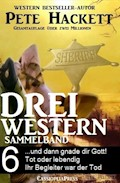 Pete Hackett - Drei Western, Sammelband 6 - Pete Hackett - E-Book