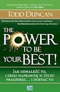 The Power to Be Your Best! - Todd Duncan - ebook