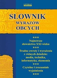 Słownik wyrazów obcych - Monika von Basse - ebook