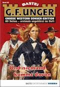 G. F. Unger Sonder-Edition 83 - Western - G. F. Unger - E-Book