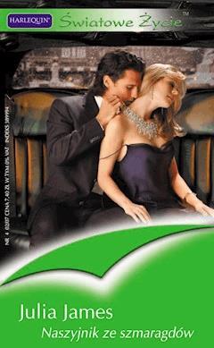 Naszyjnik ze szmaragdów - Julia James - ebook