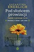 Pod słońcem prowincji. Zapiski z prostego życia. Potrawy z ziemi i pór roku - Katarzyna Enerlich - ebook