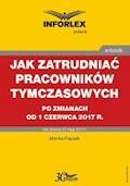 Jak zatrudniać pracowników tymczasowych po zmianach od 1 czerwca 2017 r. - Monika Frączek - ebook