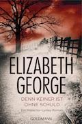 Denn keiner ist ohne Schuld - Elizabeth George - E-Book