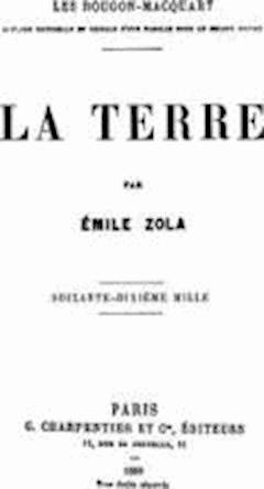 La Terre - Emile Zola - ebook