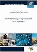 Odwołanie w postępowaniach przetargowych - Agata Hryc-Ląd, Agata Smerd, Justyna Rek-Pawłowska - ebook