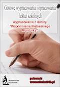 """Wypracowania - W. Gomulicki """"Wspomnienie niebieskiego mundurka"""" - Opracowanie zbiorowe - ebook"""