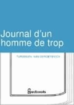 Journal d'un homme de trop - Ivan Sergeyevich Turgenev - ebook