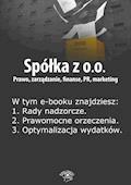 Spółka z o.o. Prawo, zarządzanie, finanse, PR, marketing. Wydanie czerwiec 2014 r. - Barbara Brózda - ebook