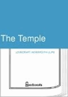 The Temple - Howard Phillips Lovecraft - ebook