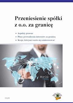Przeniesienie spółki z o.o. za granicę - Daria Wierzbińska - ebook