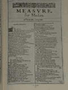 Measure for Measure - William Shakespeare - ebook