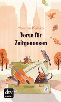 Verse Für Zeitgenossen Mascha Kaléko E Book Legimi Online