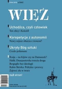 Kwartalnik Więź 4/2015 - WIĘŹ - ebook