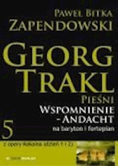 Wspomnienie - Andacht - Paweł Bitka Zapendowski - ebook