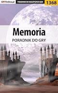 "Memoria - poradnik do gry - Katarzyna ""Kayleigh"" Michałowska - ebook"