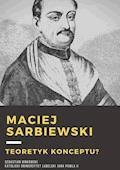 Maciej Kazimierz Sarbiewski. - Sebastian Binkowski - ebook