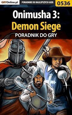 "Onimusha 3: Demon Siege - poradnik do gry - Mariusz ""PIRX"" Janas - ebook"