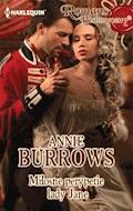 Miłosne perypetie lady Jane - Annie Burrows - ebook