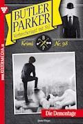 Butler Parker 98 - Kriminalroman - Günter Dönges - E-Book