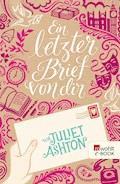 Ein letzter Brief von dir - Juliet Ashton - E-Book + Hörbüch