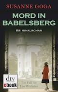 Mord in Babelsberg - Susanne Goga - E-Book