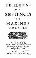 Maximes et Réflexions diverses - François de La Rochefoucauld - ebook