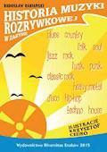 Historia muzyki rozrywkowej w zarysie - Radosław Rabiański - ebook