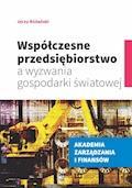Współczesne przedsiębiorstwo a wyzwania gospodarki światowej - Jerzy Różański - ebook
