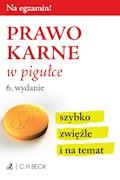 Prawo karne w pigułce - Wioletta Żelazowska - ebook