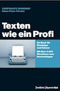 Texten wie ein Profi - Hans-Peter Förster - E-Book