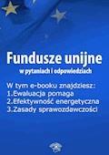 Fundusze unijne w pytaniach i odpowiedziach, wydanie sierpień 2015 r. - Anna Śmigulska-Wojciechowska - ebook