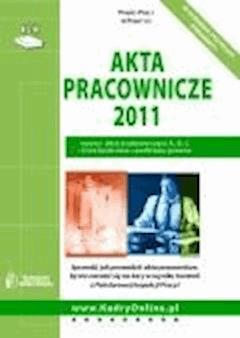 Akta pracownicze 2011  - ebook