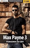 """Max Payne 3 - poradnik do gry - Jacek """"Stranger"""" Hałas - ebook"""