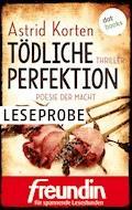 Tödliche Perfektion - Poesie der Macht: Leseprobe - Astrid Korten - E-Book