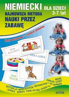 Niemiecki dla dzieci 3-7 lat - Monika von Basse, Katarzyna Piechocka-Empel - ebook