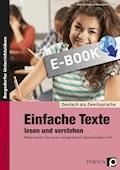 Einfache Texte lesen und verstehen - Barbara Jaglarz - E-Book