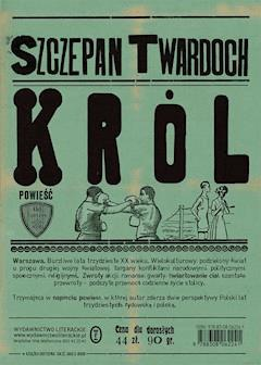 Król - Szczepan Twardoch - ebook + audiobook