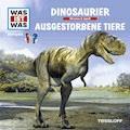 Was ist was Hörspiel-CD: Dinosaurier/ Ausgestorbene Tiere - Manfred Baur - Hörbüch